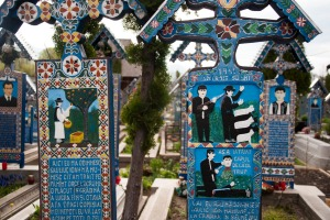 A lighter side to life and death is celebrated in Romania's Merry Cemetery.