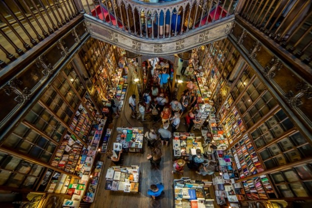 Last year we were lucky enough to be in Porto, Portugal, and visited one of the greatest bookshops in the world. ...