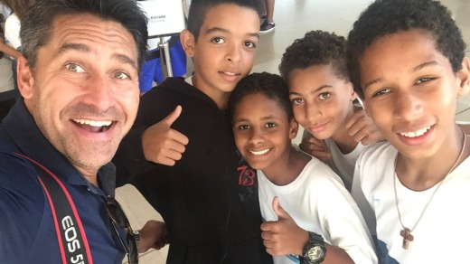 Jamie Durie in Rio.