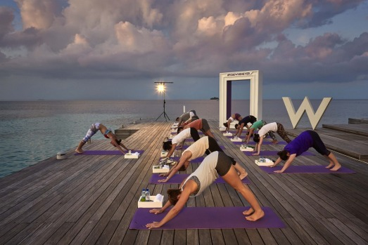 """Yoga rebel"", author and New York celebrity Tara Stiles partners with W Hotels On FIT, a program bringing her own ..."
