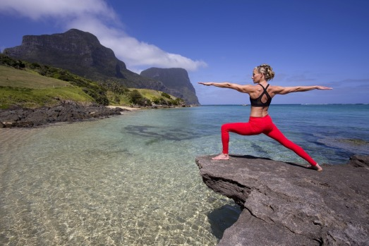 Pinetrees Lord Howe Island: Yogi to the stars Charlotte Dodson leads retreats at Pinetrees Lodge on the World Heritage ...