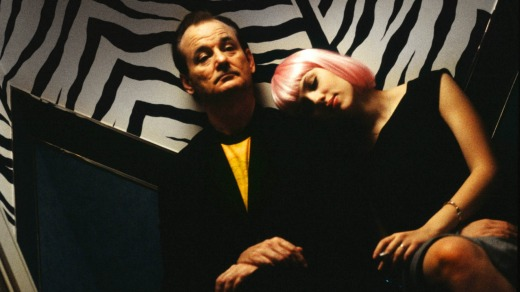 Bill Murray and Scarlett Johansson discover Tokyo is a city of surprises in <i>Lost in Translation</i>.