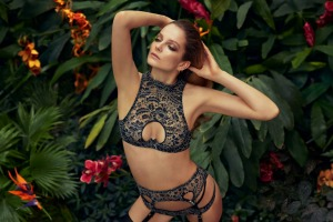 Lingerie set from Agent Provocateur's Soiree Collection.