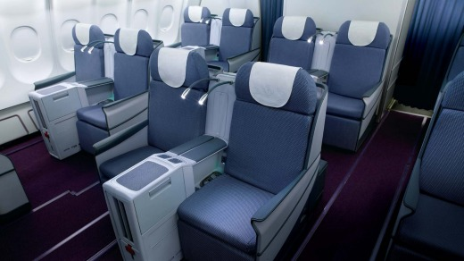 Business Class, China Southern Airbus A330.