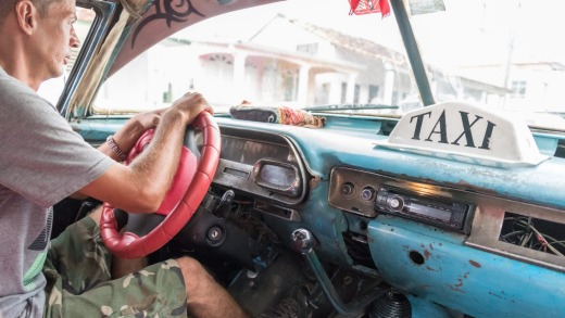 Cuba is famous for its vintage American cars still plying the roads.