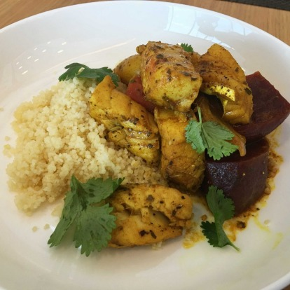 Neil Perry's 'Food I Love' fish tagine.