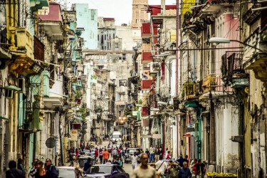 Dilapidated but Dignified,hiding her beaty behind the heavy communist coat with unusual eclectic beaty Havana is the be ...