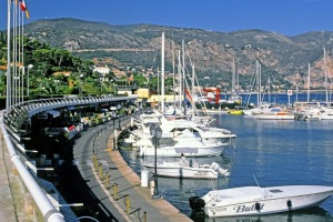 Cap Ferrat boasts the second largest marina in France and is home to calm waters and surf beaches.