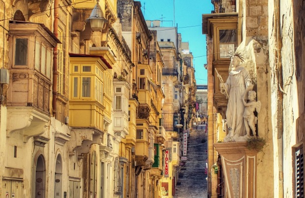 Battery Street, Valletta.