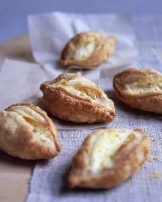Maltese pastizzi, savoury pastry filled with ricotta.