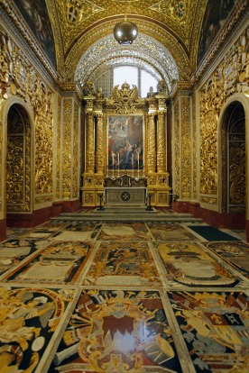 St John's Co-Cathedral, Valletta.