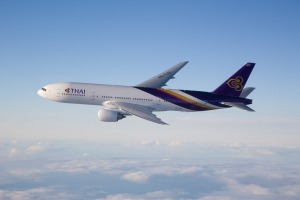 Large seats and great service make Thai Airways an attractive option.