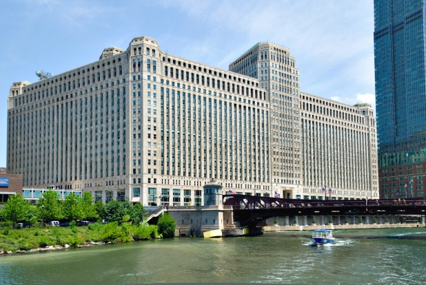 The Merchandise Mart, Chicago: Chicago is best known for its skyscrapers, but the city's truly special monster building ...