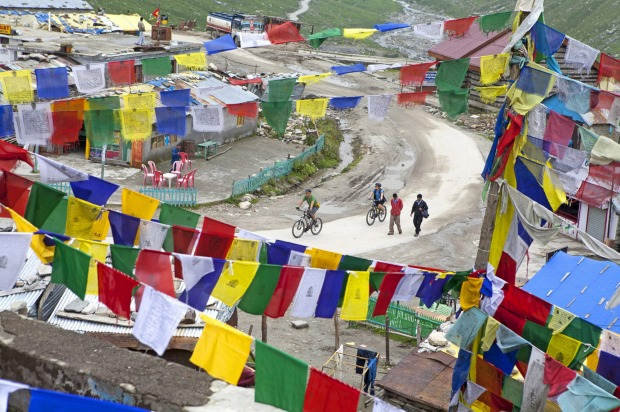 MANALI TO LEH (INDIA): Let's start at the top. Literally. This cog-busting ride across the Himalayas scales four ...