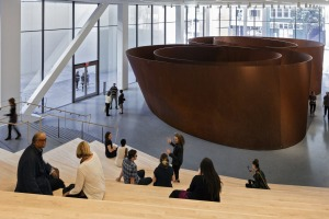 Richard Serra's 'Sequence' (2006) at SFMOMA.