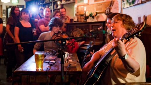 Be in a pub in Ireland, and inevitably, there will be singing. So what will you sing when it's your turn?