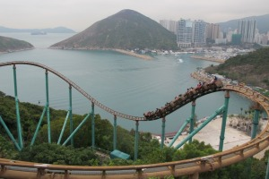 Hong Kong Ocean Park was a lot of fun when we visited in April, 2015. Not only was it lots of fun but some amazing views ...