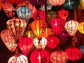While walking through a night market in Hoi An,Vietnam, I was drawn to a small market stall selling these beautiful and ...