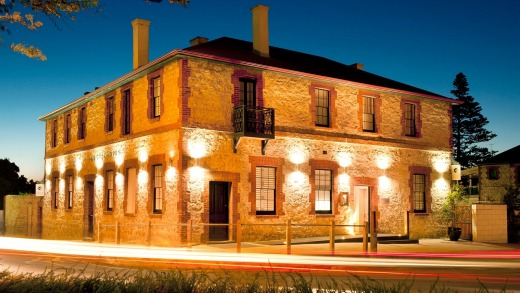 Fine boutique hotel: The Australasian Circa 1858.