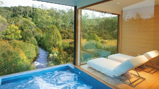 CRADLE MOUNTAIN LODGE, TASMANIA The sumptuous King Billy suites at Peppers Cradle Mountain Lodge are the stuff romantic ...