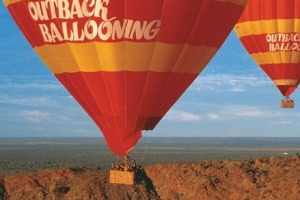 Outback Ballooning flights take place approximately 15 kilometres south of Alice Springs.