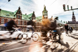 Copenhagen's City Bikes bicycle sharing system is hugely popular with residents and visitors.
