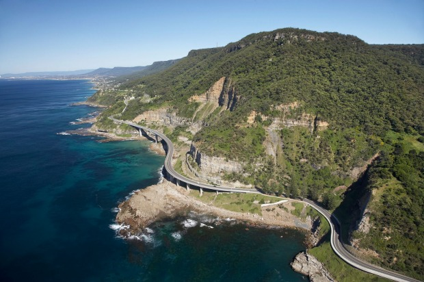Grand Pacific Drive, New South Wales: Sea Cliff Bridge near Wollongong south of Sydney.
