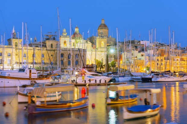 Grand Harbour Marina, Vittoriosa.