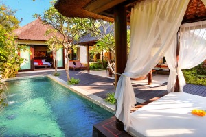 Private luxury: Amarterra Villas in Nusa Dua, Bali.
