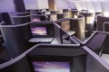 Virgin Australia's latest business class seat is cleverly designed.