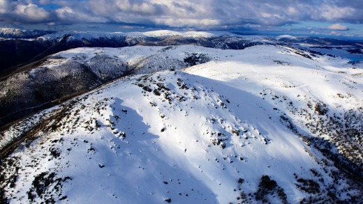 Mount McKay and the backcountry at Falls Creek.