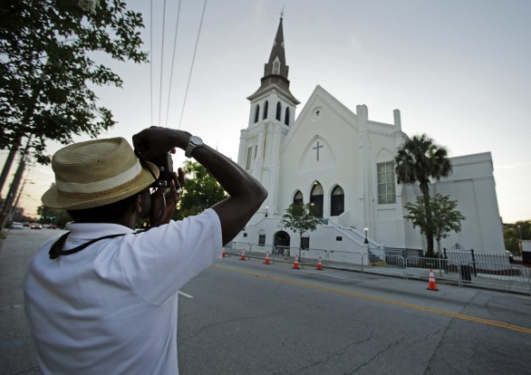 Mother Emanuel AME Church in Charleston, US.