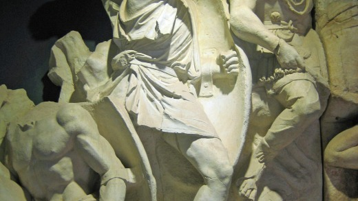 This relief on the Parthian monument from the second century AD is just one of the wonders at the absorbing Ephesus Museum.