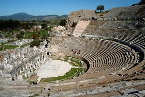 The Great Theatre at Ephesus.