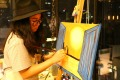 Innovation: Bangkok Paintbar encourages patrons to paint.