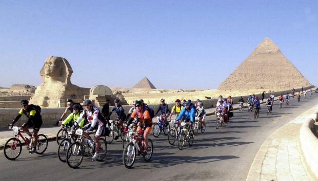 TOUR D'AFRIQUE: Cycle the length of Africa, or just a really big chunk of it ... it's your call on the annual Tour ...