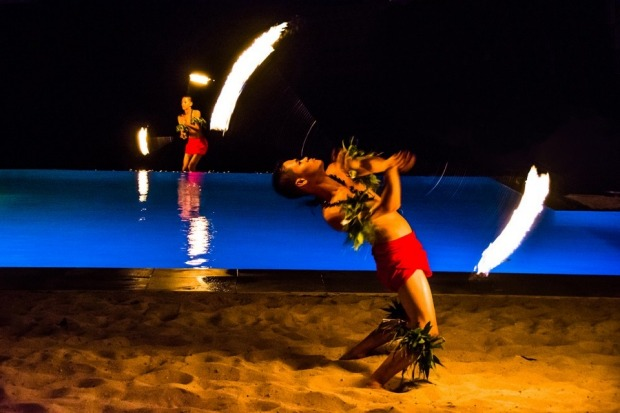 Captured this moment watching a traditional fire dance in Vanuatu. An amazing moment; only to be asked to join in the ...