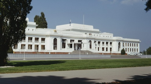 Old Parliament House in Canberra.