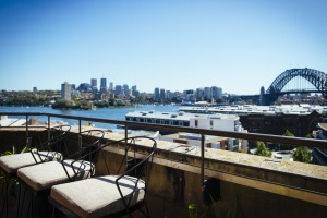 The views from the Henry Deane bar at Hotel Palisade are hard to beat.