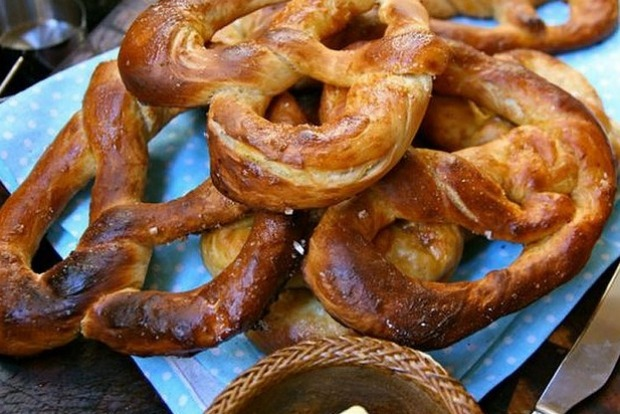 "PRETZELS  ""Our pretzels are better than New York's,"" one local told me proudly. ""Ours are soft and doughy and have to be ..."