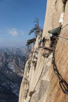 Mount Hua Shan, China.