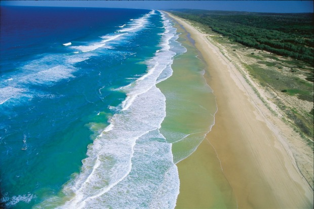 Main Beach, North Stradbroke, Queensland.
