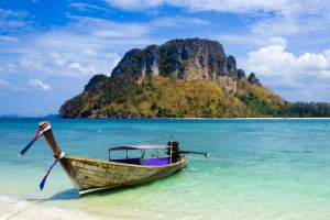 Longtail boat in Thailand.