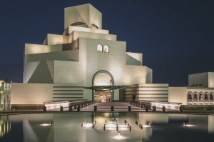 The Museum of Islamic Art in Doha, Qatar.