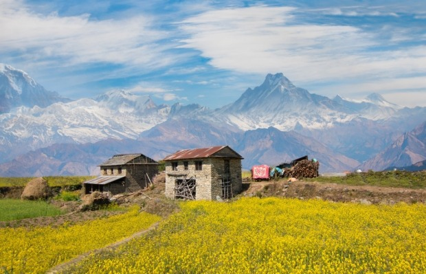 I stumbled upon this little gem as I climbed onto someone's backyard during an off-road biking trip in Nepal. We could ...