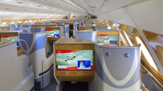 Emirates is tops when it comes to inflight entertainment.
