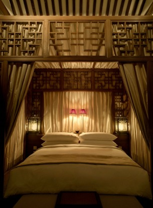 Historic surrounds add to the ambience at Aman Summer Palace.