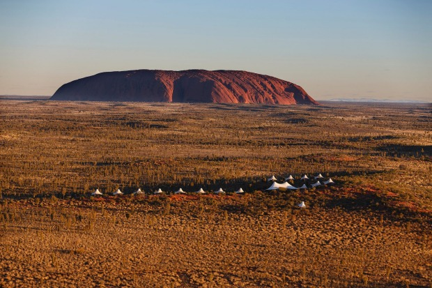 Longitude 131 is the only accommodation in the Red Centre to boast views over the rock.