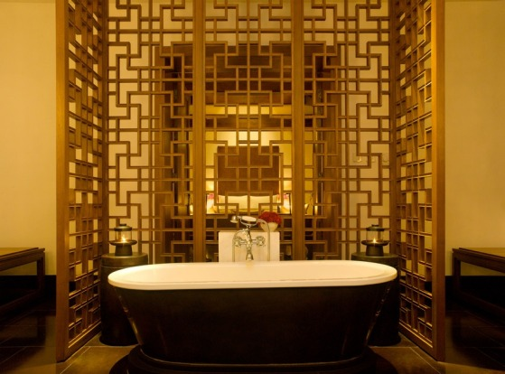The interiors at Aman Summer Palace match the historic surrounds.