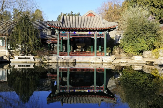 The music pavilion is just one of the tranquil outposts at Aman Summer Palace.